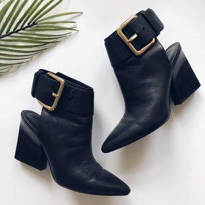 Sigerson Morrison Gold buckle boots